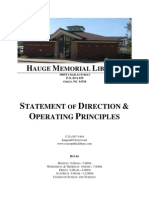 hauge memorial library policy word doc