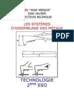 LES SYSTÈMES D'ASSEMBLAGE DES MÉTAUX