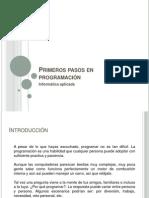 Primeros pasos en programación (parte 1)