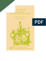 Carlos Marx Cuaderno Tecnológico-histórico. Estudio preliminar de Enrique Dussel