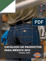 Catalogo Dickies Septiembre 2013