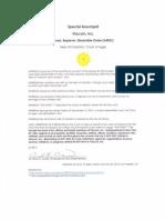 Special Assumpsit, Viacom Inc. (ARDO)