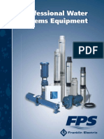 Franklin FPS Pumps Catalog