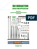 Micro Irrigation - Technology and Applications