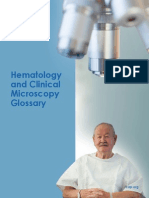 2012 Hematology, Clinical Microscopy, And Body Fluids Glossary