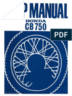 CB750 Shop Manual