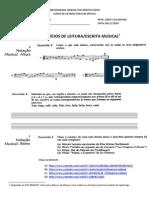 Coletanea Exercicios Leitura-escrita Musical