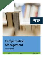 Compensation Management Laws