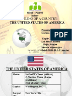 profiling of  a country - USA