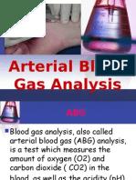 Arterial Blood Gas Analysis-Gaya3's