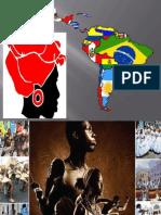 Slides de la apresentación sobre La Cultura Negra en la América Latina