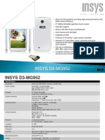 INSYS Tlm Android 5''