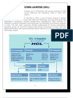 Management Information Systen of HCL