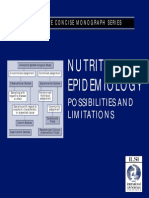 Nutritional Epidemiologi