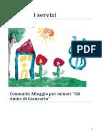 carta dei servizi comunita