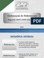 Elaboração de Referências (1)