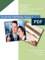 Plan de Negocio Etapa 1