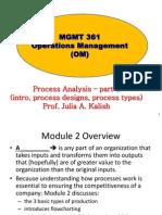 Process Analysis - Class Notes - Mod 2 - Part 1(1)