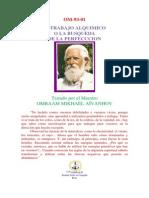 Om-93-01-El Trabajo Alquimico o La Busqueda de La Perfeccion (Resumen)