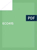 ECO415