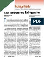 Low Temperature Refrigeration