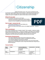 digital citizenship course intro