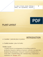 3 Plant Layout & MH