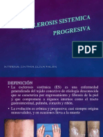 ESCLEROSIS SISTEMICA PROGRSEIVA