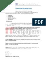 1178 2010 Csc Placement Paper 2