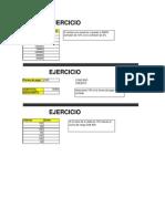 Ejercicios Excel Extra