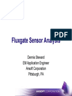 Flux Gate Sensor Analysis