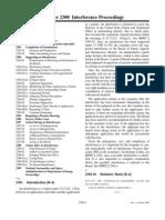 MPEP E8r7 - 2300 - Interference Proceedings