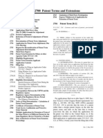 MPEP E8r7 - 2700 - Patent Terms & Extensions