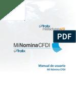 Manual MiNominaCFDI 2014