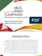 CFA Campaign Proposal