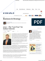"2012 – The ""Lost Year"" for Indian Telecom _ Forbes India Blog - Copy"