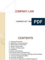 Company Law Common Lecture for All