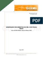 Generando XML Con Visual Basic