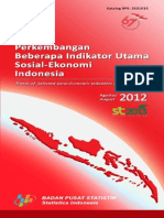 Data Demografi Penduduk BPS 2012