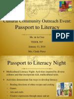 community outreach event web