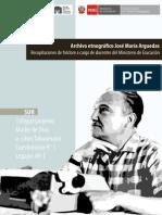 Arguedas, José María. Libro Departamento Madre de Dios