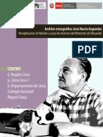 Arguedas, José María. Libro Lima 1 Colegio Nac. Miguel Grau1