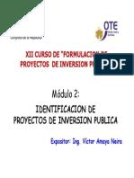 Modulo 2 Identificacion de Proyectos Victor Amaya Neira