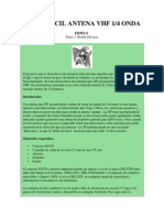 SUPER FÁCIL ANTENA VHF 1
