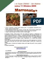 La Marronata 2009 a Casale - San Godenzo