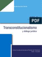Transconstitucionalismo y Dialogo Juridico