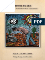 Segunda edición de Muros de sed (De raíces, fronteras y otros espejismos) Prólogo Dr. Rodrigo Pardo Fernández