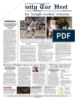 The Daily Tar Heel for Jan. 23, 2014