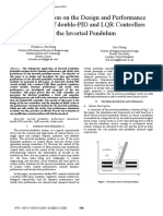 An Investigation on the Design and Performance Assessment of Double-PID and LQR Controllers for the Inverted Pendulum
