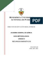 Antologia Unidad II Recursos Energeticos